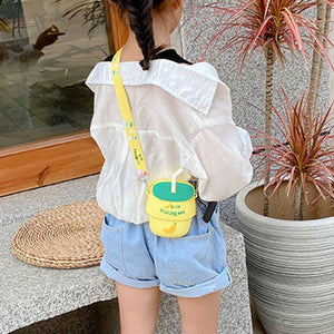 Milk Drink Crossbody Phone Bag