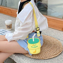 Load image into Gallery viewer, Milk Drink Crossbody Phone Bag