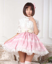 Load image into Gallery viewer, Sweet Lolita Chandelier Print Skirt