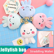 Load image into Gallery viewer, Jellyfish Plush Purse