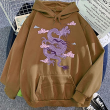 Load image into Gallery viewer, Sky Dragon Harajuku Hoodie