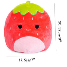 Load image into Gallery viewer, Strawberry Plush Toy