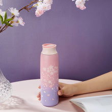 Load image into Gallery viewer, Stainless Steel Sakura Cherry Blossom Thermos
