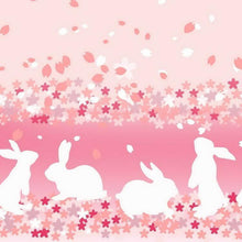 Load image into Gallery viewer, Pink Bunny & Cherry Blossom Lolita Skirt