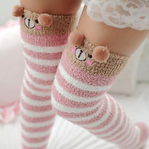 Knee High Cozy Socks