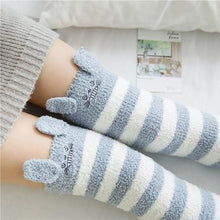 Load image into Gallery viewer, Knee High Cozy Socks