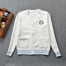 Load image into Gallery viewer, Cute Penguin Knit Cardigan
