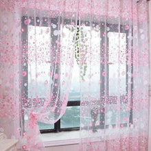 Load image into Gallery viewer, Sakura Window Curtain Drapes