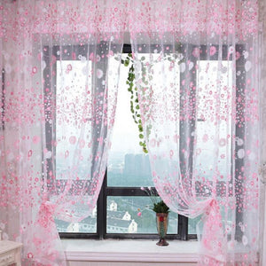 Sakura Window Curtain Drapes