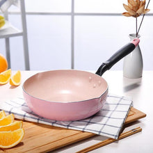 Load image into Gallery viewer, Pink Non-Stick Wok