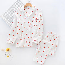 Load image into Gallery viewer, Heart Print Pajamas