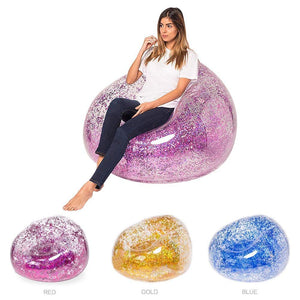 Confetti Glitter Inflatable Chair