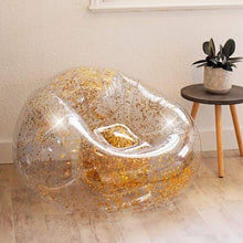 Load image into Gallery viewer, Confetti Glitter Inflatable Chair