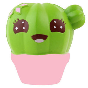 Jumbo Cute Cactus Squishy