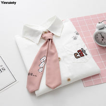 Load image into Gallery viewer, Neko Uniform Blouse With Tie