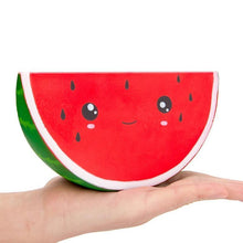 Load image into Gallery viewer, Jumbo Kawaii Watermelon Scented Squishy