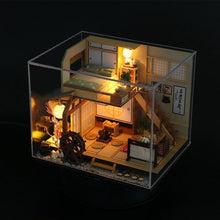 Load image into Gallery viewer, DIY Wooden Doll Houses Miniature Dollhouse Japanese Style Double Layer Loft Doll House  Furniture Kit Toy for Kids Birthday Gift - Kawaii-Crafts.com