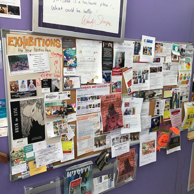 Our noticeboards are for YOU