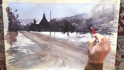 Watercolour Classes with Szczepan (Stefan)