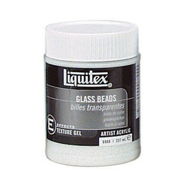 Liquitex Effects Medium Glass Beads Textured 237ml