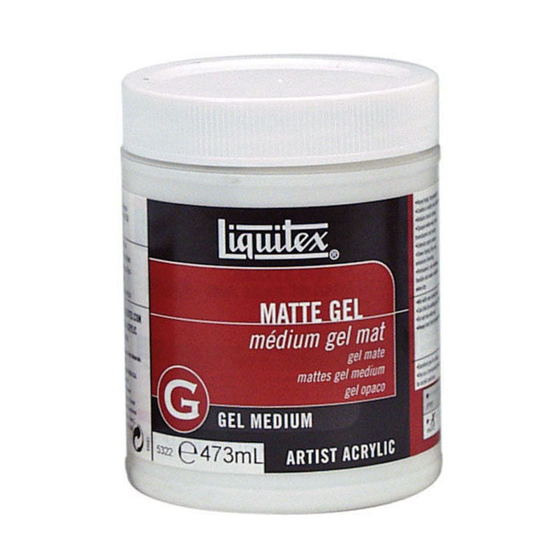 Liquitex Matte Gel Medium 473ml