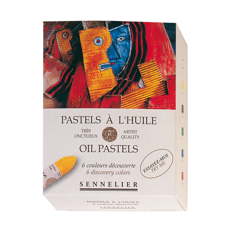 Sennelier Oil Pastels Assorted Box of 6