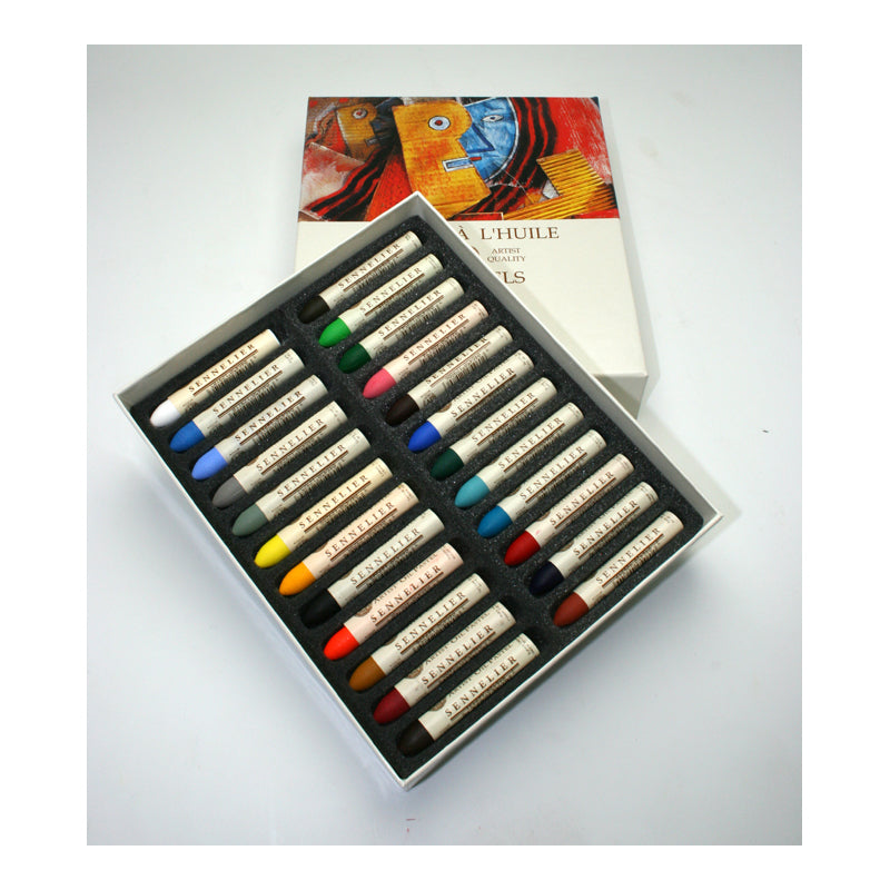 Sennelier Oil Pastels Assorted Box of 24