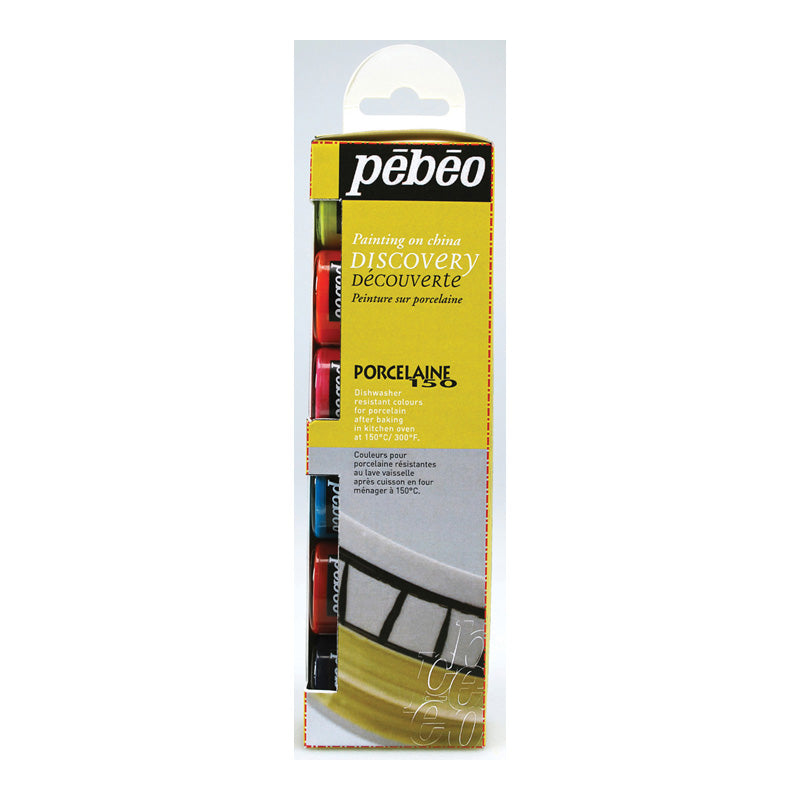PEBEO Porcelaine 150 Discovery Set 6 x 20ml