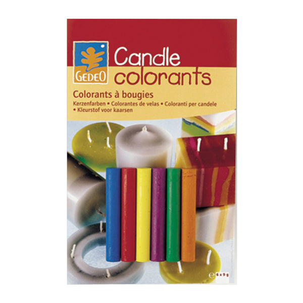 Gedeo Candle 6 mixable Colours