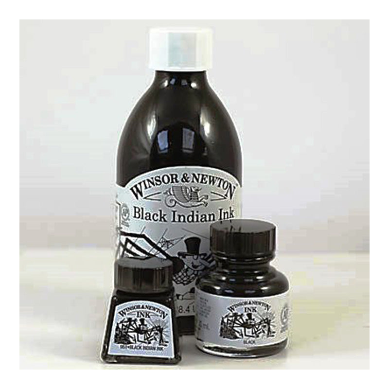 Winsor and Newton Black Indian Ink (951) without dropper