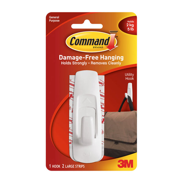 Command 3M 17003 Adhesive Hook Large