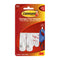 Command 3M 17002 Adhesive Hook Small White Pkt 2