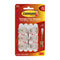Command 3M 17006CLR Adhesive Hook Mini Clear Pk 6