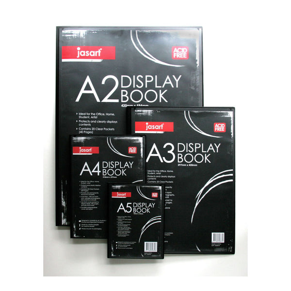 Jasart Studio Display Book 20 Pocket