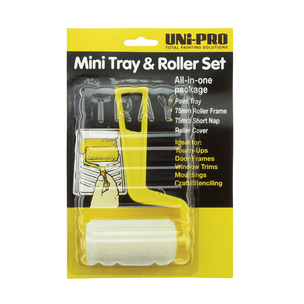 UniPro Mini Tray and Roller Set 75mm