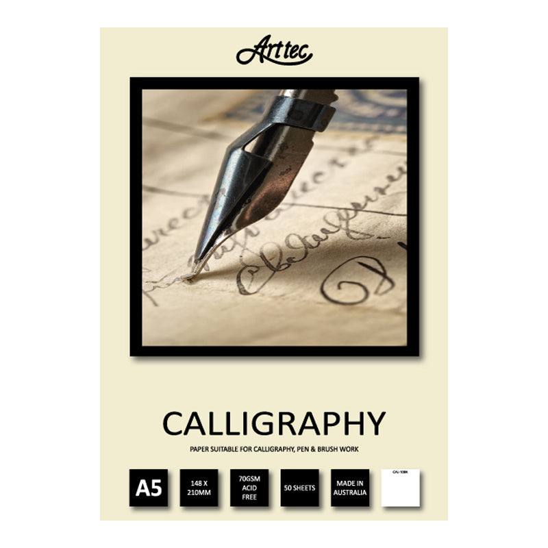 ARTTEC CALLIGRAPHY PAD 90gsm 50 SHEETS