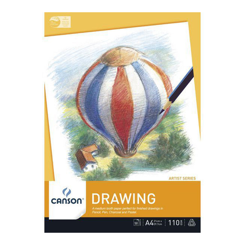 Canson Drawing Paper Pad 110gsm