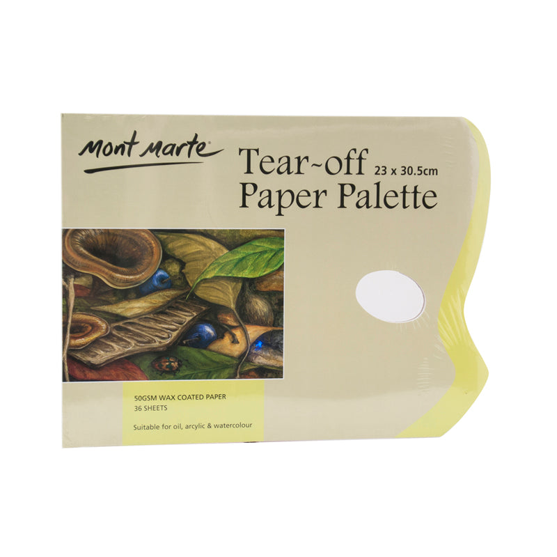 Mont Marte Tear Off Palette Pad 36 sheet