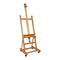 Mont Marte Large Studio Easel with castors Beech Wood