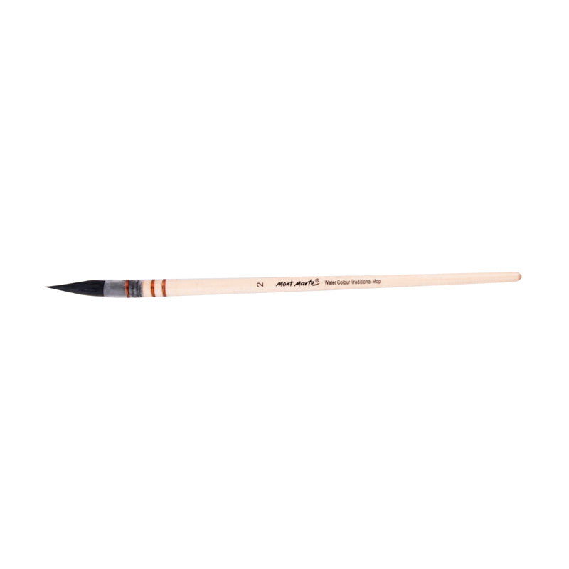 Mont Marte Artist Brush Watercolour Traditional Mop