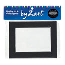 Zart Pre Cut Cardboard Mounts Pkt of 10