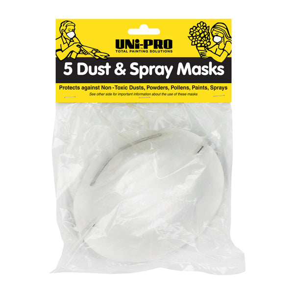 UniPro Dust Masks Pkt 5