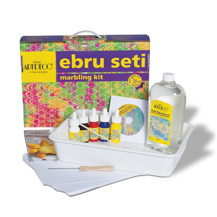 ARTDECO Marbling Set 5 Colour Starter