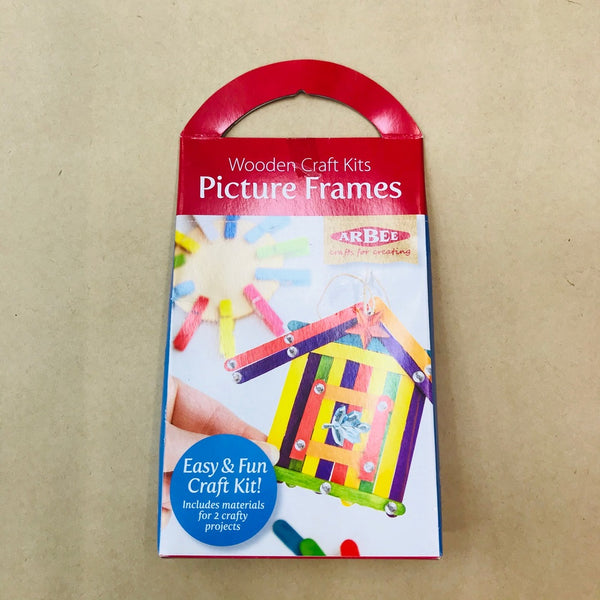 Arbee Wooden Craft Kit - Picture Frame