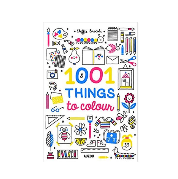 Book - 1001 Things to Colour