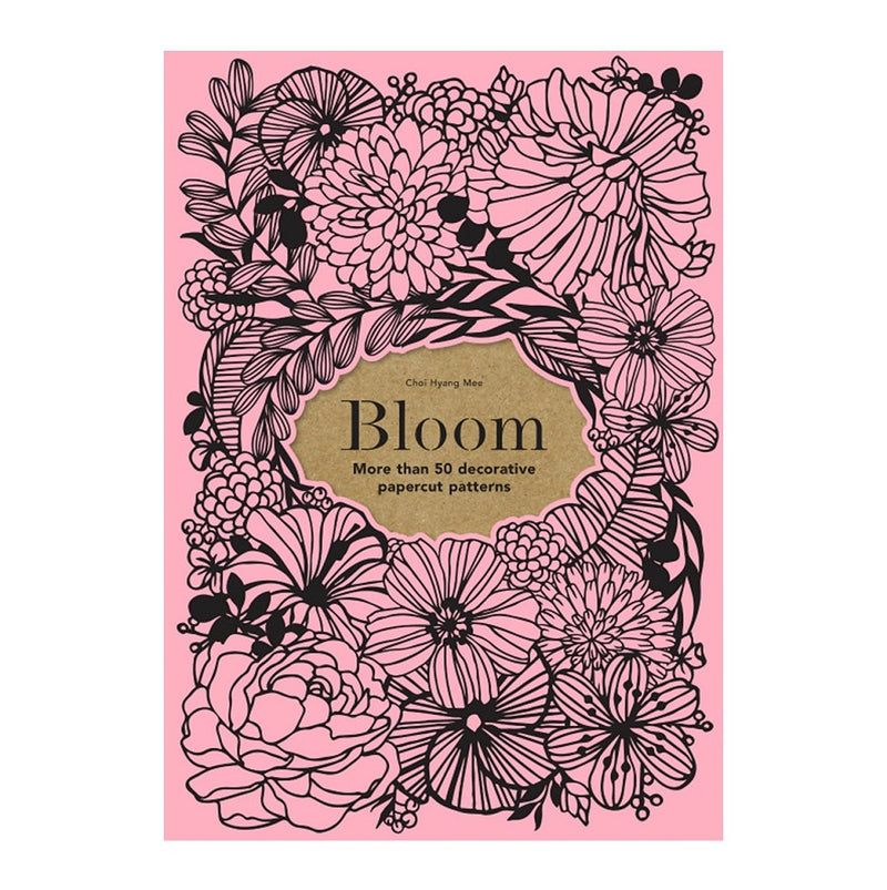 Book - Bloom Papercut Patterns