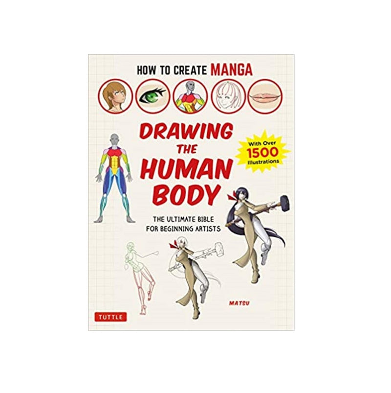 Book - How to Create Manga - Drawing the Human Body
