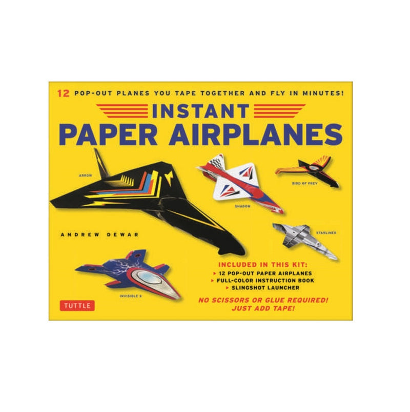 Book - Instant Paper Airplanes for Kids