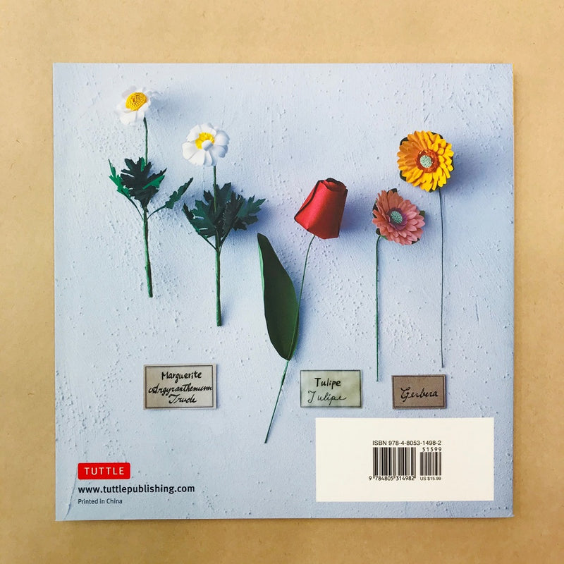 Book - Japanese Paper Flowers