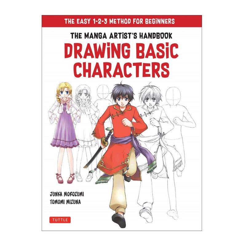 Book - Manga Artists Handbook - Drawing Basic Characters
